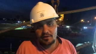قناة السويس الجديدة :محمود مصرى على الكراكة الاماراتية : أسعد الناس للمشاركة فى القناة