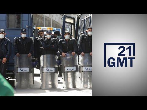 الشرطة الجزائرية تبرر استخدام العنف ضد المتظاهرين