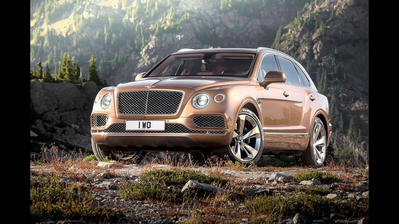2015 Bentley Bentayga Revealed