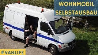 Sprinter Wohnmobil Selbstausbau: Kastenwagen wird zum Camper umgebaut - Van Life ich komme!