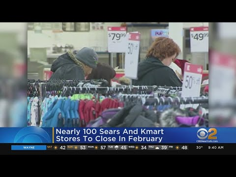 Nearly 100 Sears, Kmart Stores To Close In February