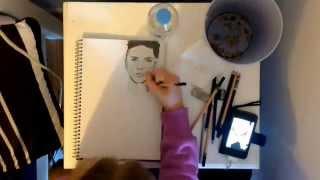 Speed Drawing ~ Andy Biersack