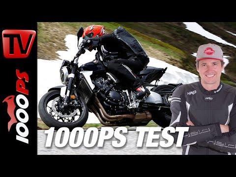Honda CB1000R Test - Alpenmasters - Harter Test am Berg - Teil 7 von 18