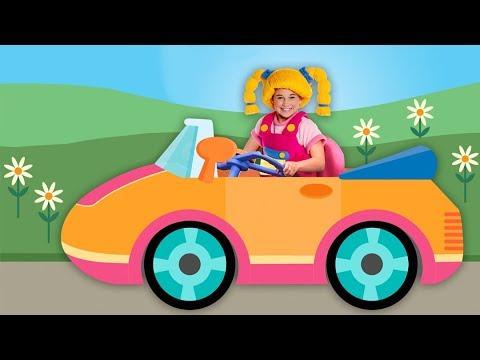 Paseando en Mi Auto y Más | Recopilación de Canciones Infantiles | Mother Goose Club en Español