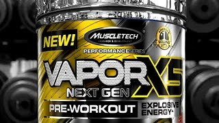vapor x5 nextgen pre workout review extreme energy and pumps