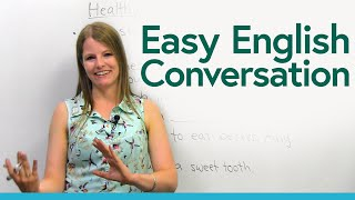 Easy English Conversation: Talk about food!