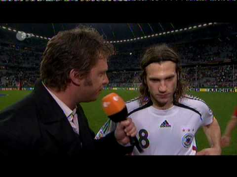 Interview Frings (Germany - Czech Rep., October 17, 2007)
