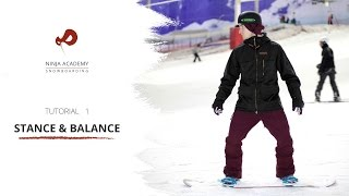 How to Improve your Snowboarding with Stance + Balance - Snowboard Tutorial