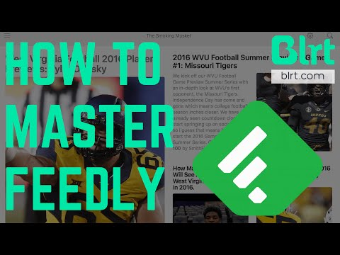 How To Use The Feedly App