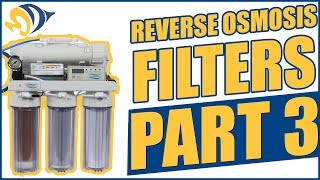 Reverse Osmosis Filters, Part 3: Connections