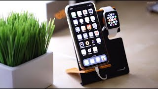 Lxory XStand2 - Apple Watch and iPhone Stand