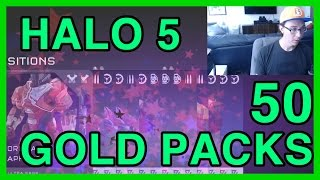 50 Gold Requisition Pack Openings - Halo 5| WikiGameGuides