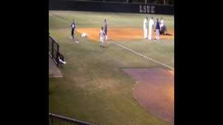 LSUE Baseball Assistant Coach Roberto Vaz spends quality time with sons