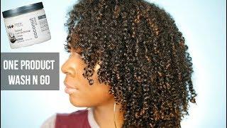 One Product Wash N Go   Eden Bodyworks Curl Defining Cream