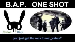 Video B.A.P. - One Shot (Spanish Version) [Riku Ft. Carlos] download MP3, 3GP, MP4, WEBM, AVI, FLV Juli 2018