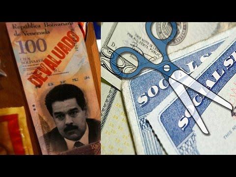 Venezuela in Economic Crisis, US Cuts Social Security Funds - #CTSECN @CrushTheStreet