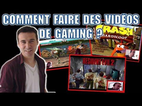 Comment faire des vidéos Gaming commentées, filmer ses jeux PC et se filmer (logiciels gratuits) ?