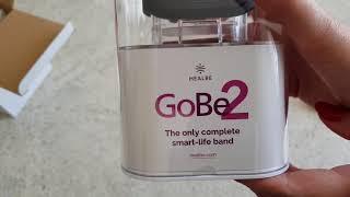 Мой новый фитнес-трекер GoBe2 - распаковка