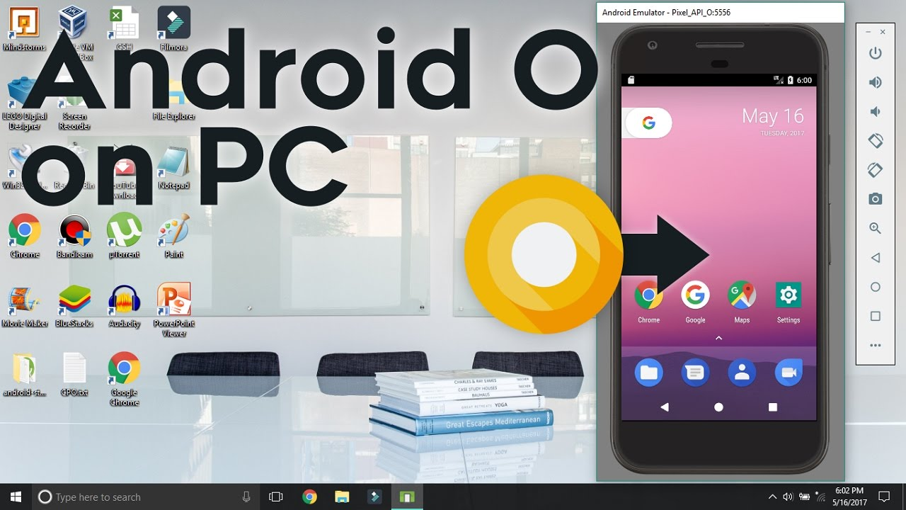 Run android l 5. 0 directly in pc without android virtual box or.