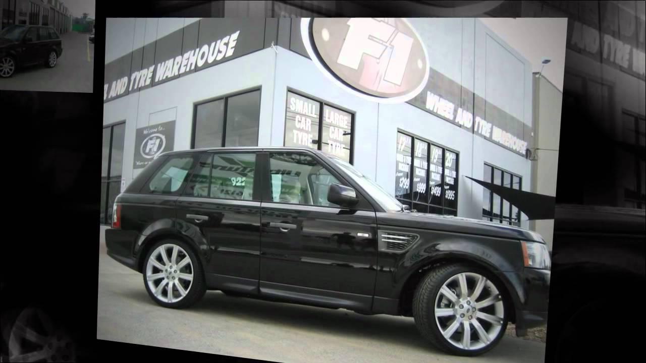 F1 Wheel Amp Tyre Range Rover Sport Custom Rims 22 Inch Stormer Wheels Youtube