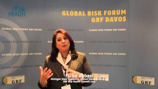 Farha Abbasi - Statement at the GRF One Health Summit 2013