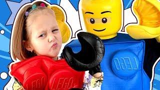 Папа Амельки Лего Кубик? Кто его заколдовал и Что будет с Амелькой? Сборник Видео LEGO Story