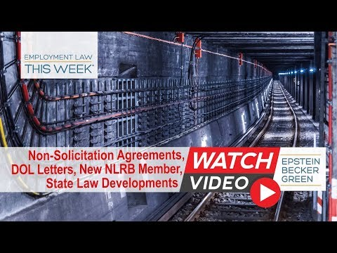 Employment Law This Week® - Episode 114 - Week of April 23, 2018
