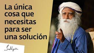 ¿Buscas consuelo o una solución? | Sadhguru
