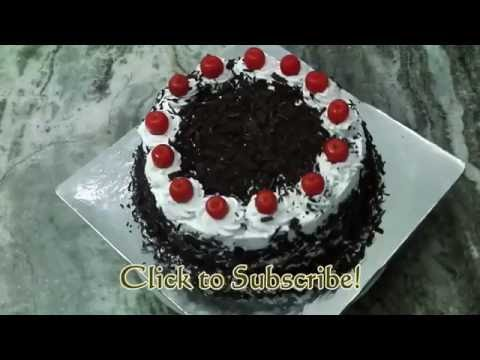 Homemade Black Forest Cake Recipe Without Oven