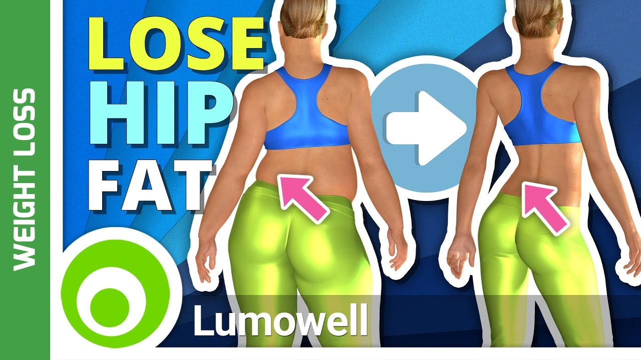 How to lose hips fat exercise