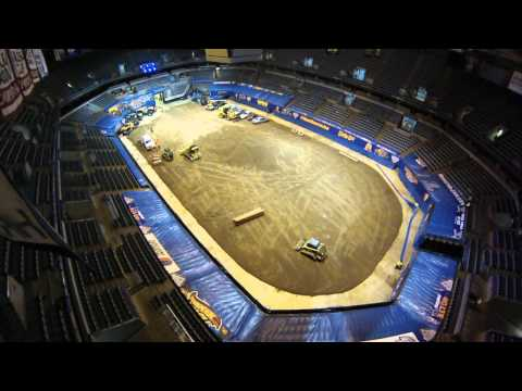 #MoreMonsterJam at the BMO Harris Bradley Center Timelapse