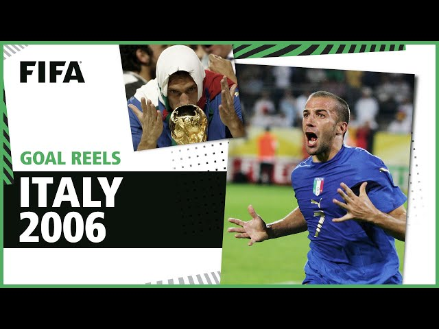 All of Italy's 2006 World Cup Goals | Totti, Del Piero & more!