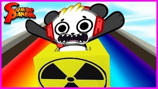 Roblox Slide Down 999,999,999 Miles on a Rainbow Let's Play with Combo Panda