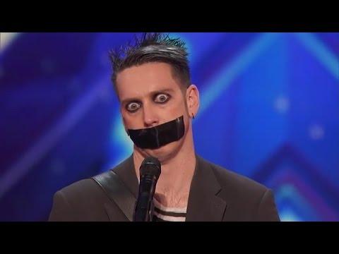 Dziwny Śmieszek w amerykańskim Mam Talent (NAPISY PL)