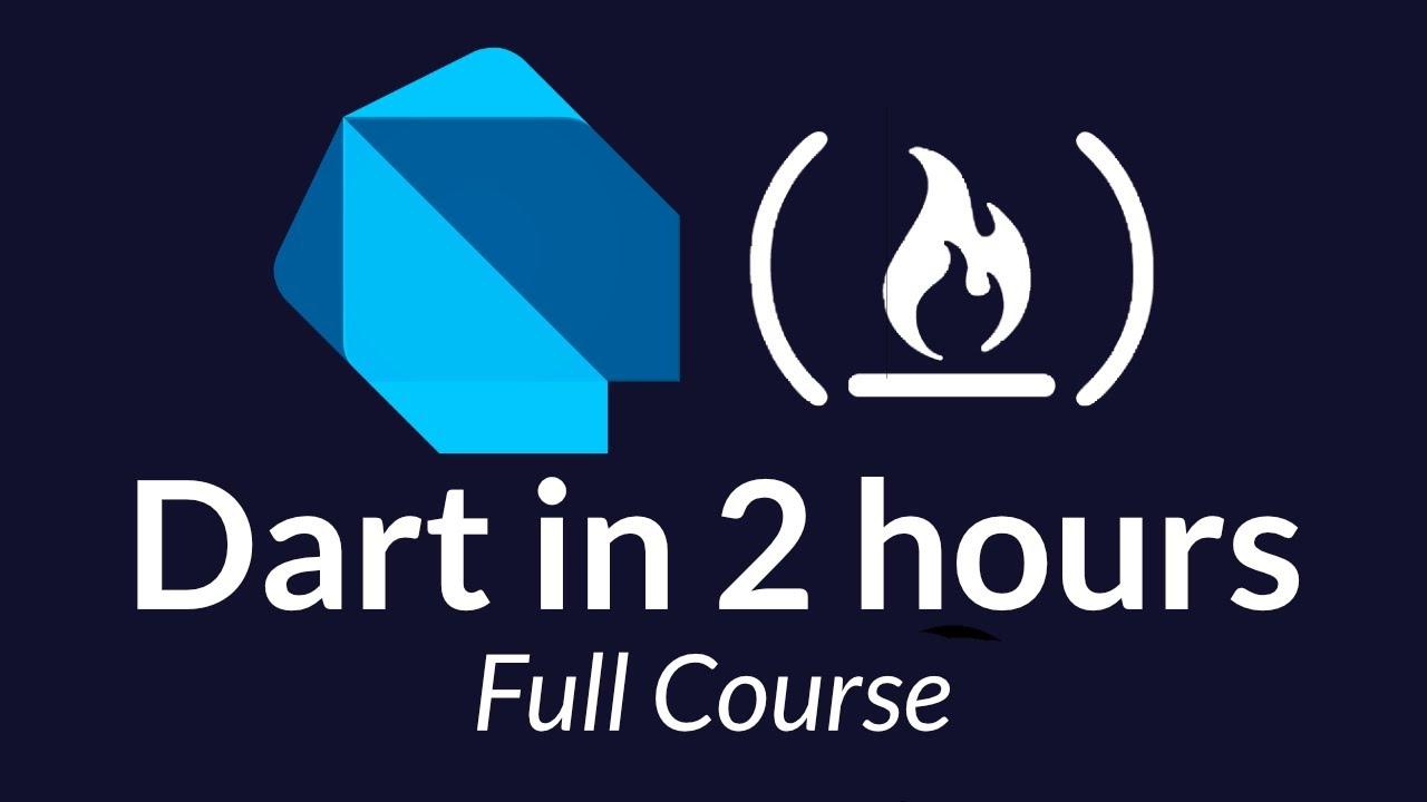 Dart Programming Tutorial - Full Course