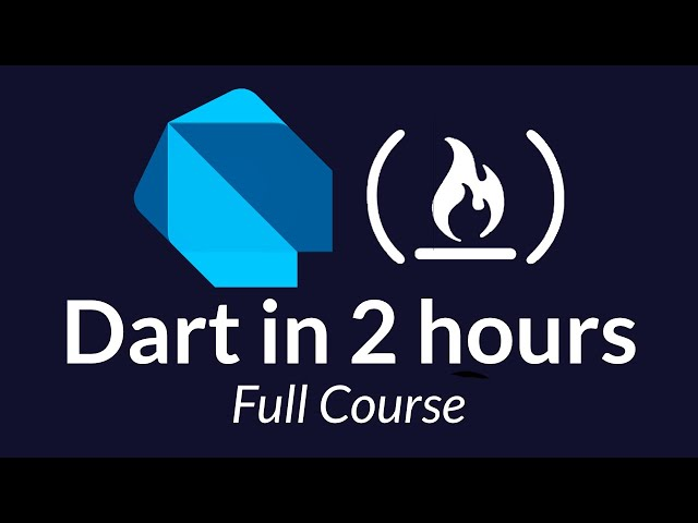 Dart Programming Tutorial - Full Course