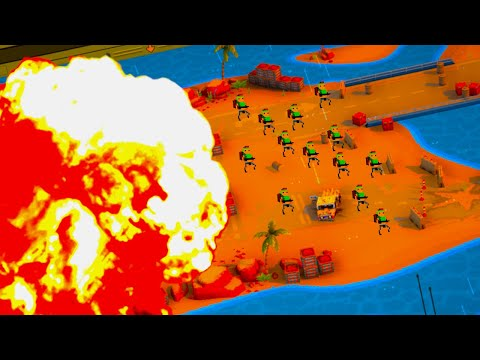 i had massive nukes dropped on me in warpips |