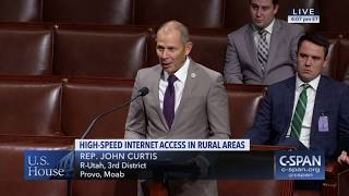Curtis Rural Broadband Bill passes the House - September 12, 2018
