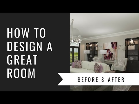 Arianne Bellizaire Interiors Design Presentation: How To Decorate A Great Room