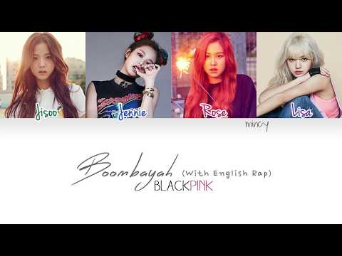 BLACKPINK - Boombayah (With English Rap) (Color Coded Han|Rom|Eng Lyrics) | mincy