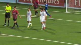 Bryan Bugarín - Real Madrid Infantil B vs Unión Adarve (08/10/2021)