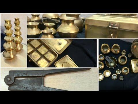 Old brass items ll unique brass items ll brass items ll paandaan