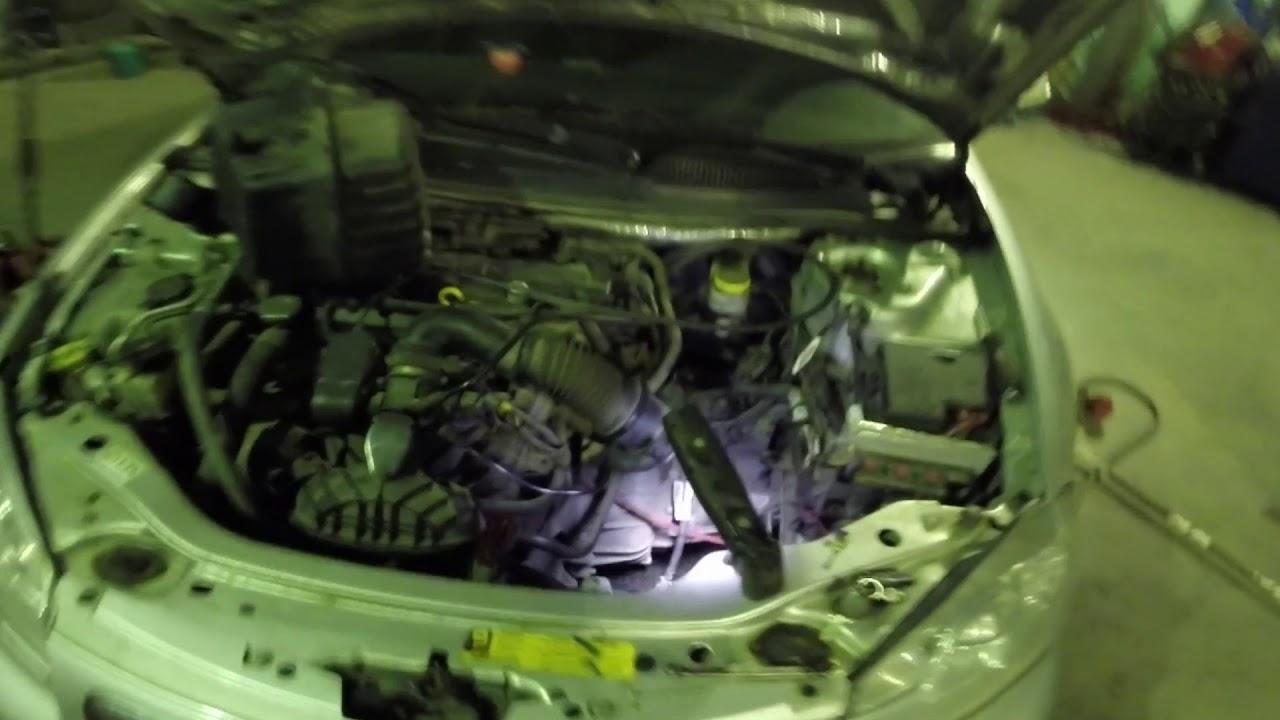Volga Siber ремонт ABS и трекшн ошибка 50FE, p0340 датчик положения распредвала