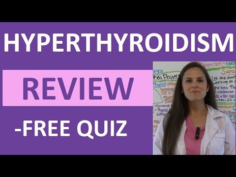 Hyperthyroidism | Hyperthyroid Endocrine Nursing Symptoms Treatment Pathophysiology NCLEX