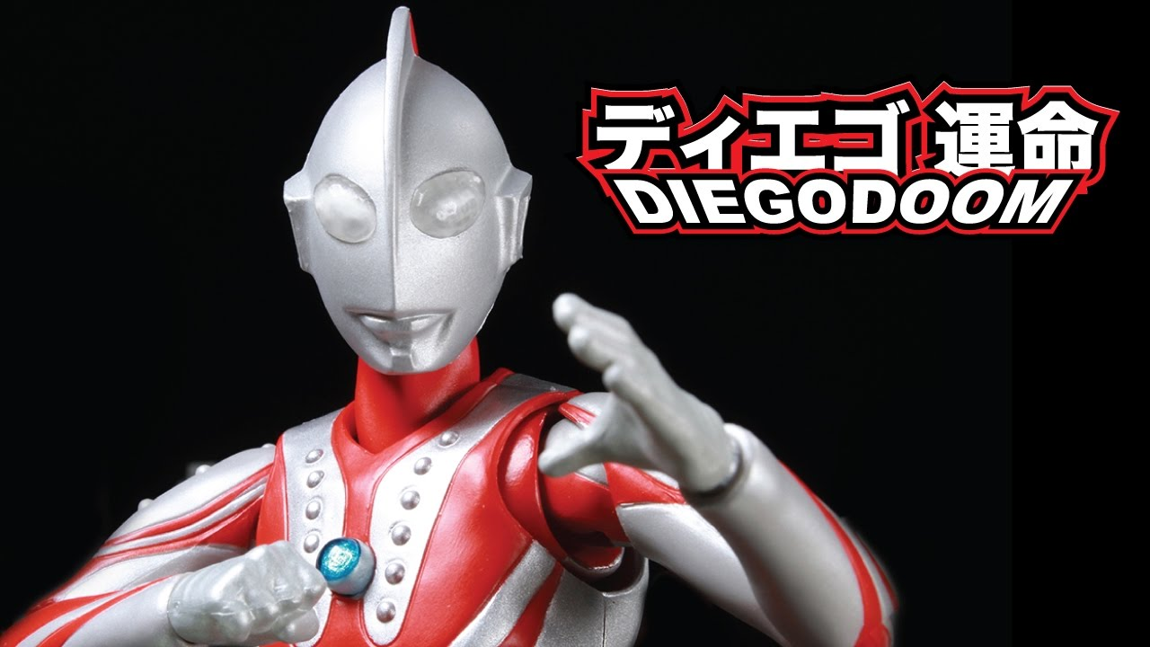 Figuarts Ultraman Zoffy action figure Bandai S.H