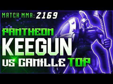 S8 | Keegun Pantheon vs Camille TOP | High Elo Ranked League of Legends
