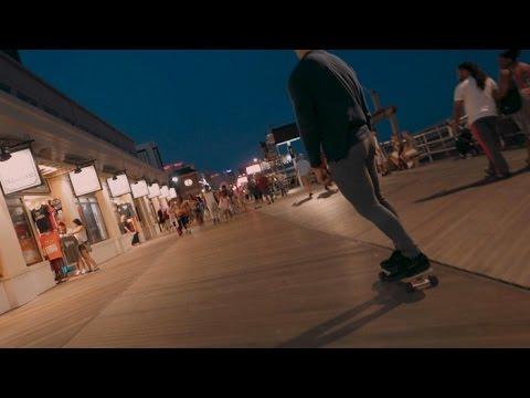Boardwalk Skating in AC