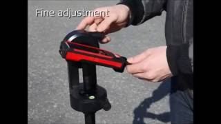 leica DISTO S910   laser range finder  how to use
