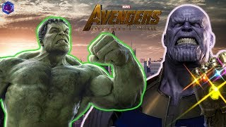 Infinity War Pre-relase Prediction - Why The HULK is TERRIFIED of Thanos