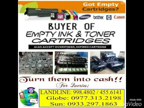 We Buy Empty Ink & Toner Cartridges
